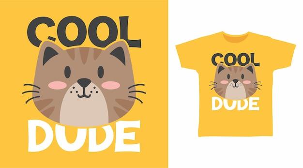 Coole typografie für t-shirt-design