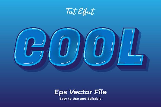 Coole vektordatei mit texteffekt gebrauchsfertig