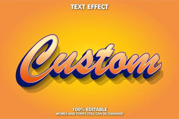 Cooler 3d-script-font-effekt