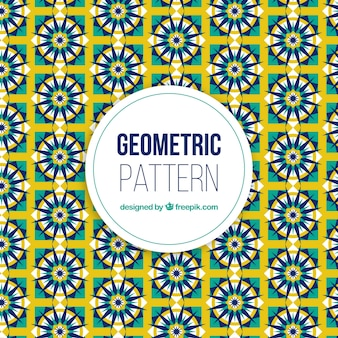 Cooler abstrakter und geometrischer musterhintergrund