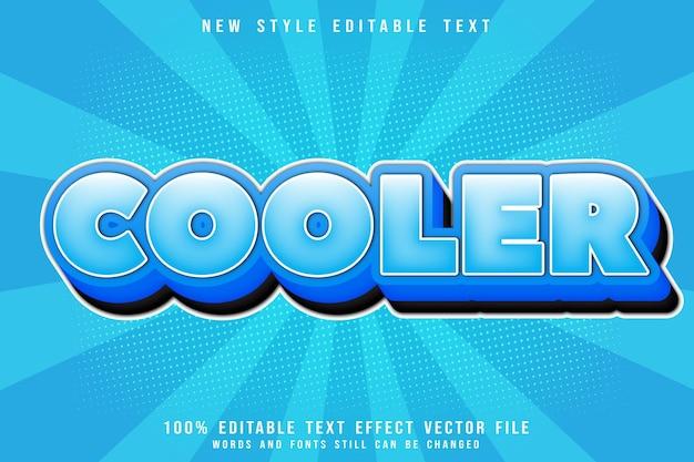 Cooler bearbeitbarer texteffekt prägen comic-stil