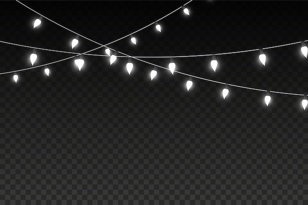 Cooler verschwommener bokeh beleuchtet vektorhintergrund.