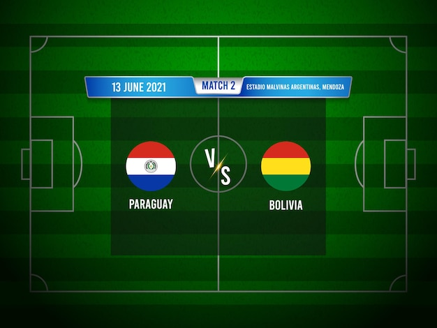 Copa america fußballspiel paraguay gegen bolivien
