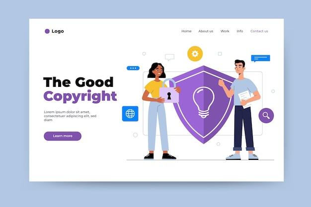 Copyright-landingpage