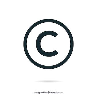 Copyright Symbol Kostenlose Vektoren, Fotos und PSD-Dateien