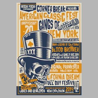 Corner break festivals flyer