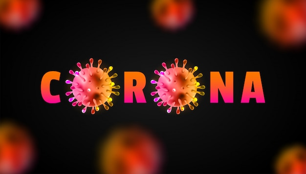 Corona-virus 2020. wuhan-virus-krankheit. coronavirus-ausbruch und coronaviren-influenza-hintergrund. coronavirus 2019-ncov. pandemisches medizinisches gesundheitsrisikokonzept.