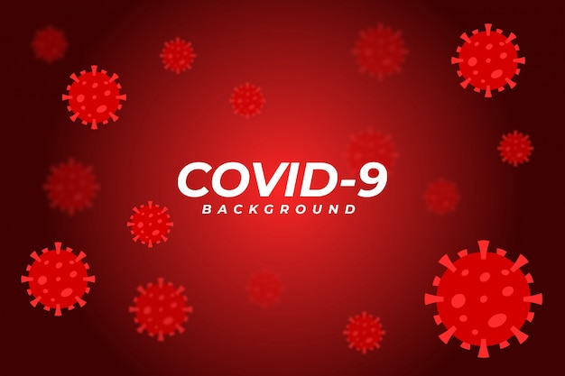 Corona virus hintergrund