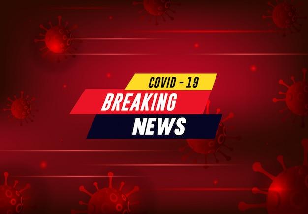 Coronavirus covid-19-ausbruchsdesign