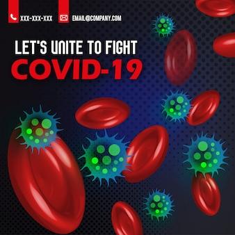 Coronavirus covid-19 awareness-banner