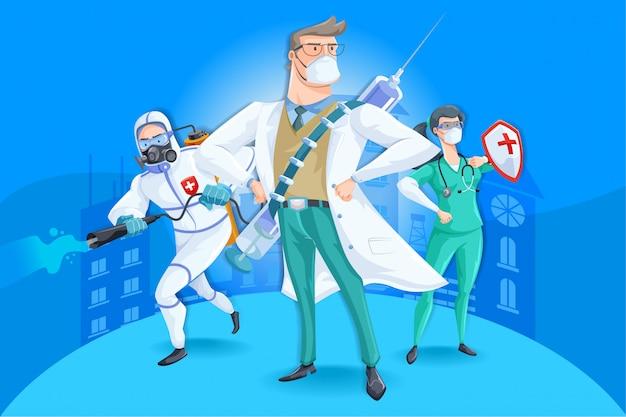 Coronavirus deckte 19 kämpfer ab