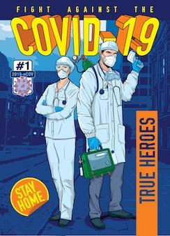 Coronavirus hq - wahre helden