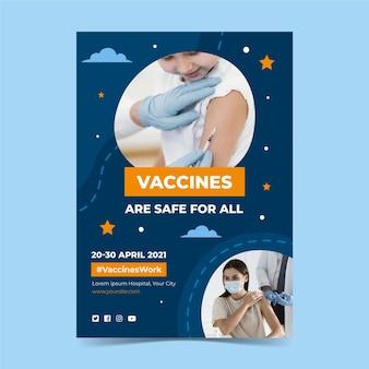 Coronavirus-impfflyer