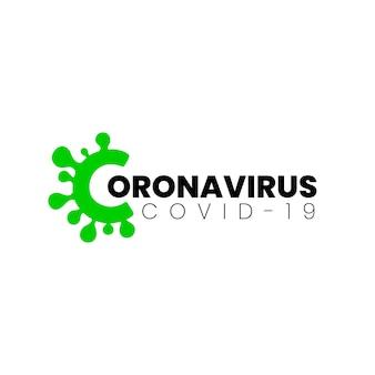 Coronavirus-logo-vorlage