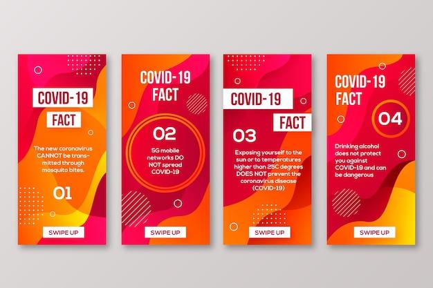 Coronavirus-mythenliste für instagram