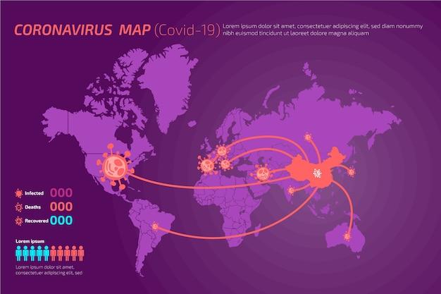 Coronavirus ncov-19 verbreitet sich auf allen kontinenten