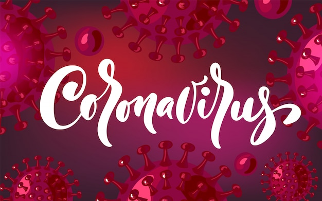 Coronavirus zur sensibilisierung oder warnung vor der ausbreitung von krankheiten