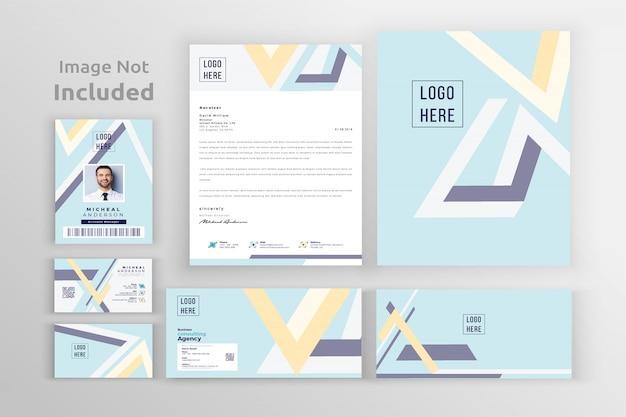 Corporate branding identity-vorlage