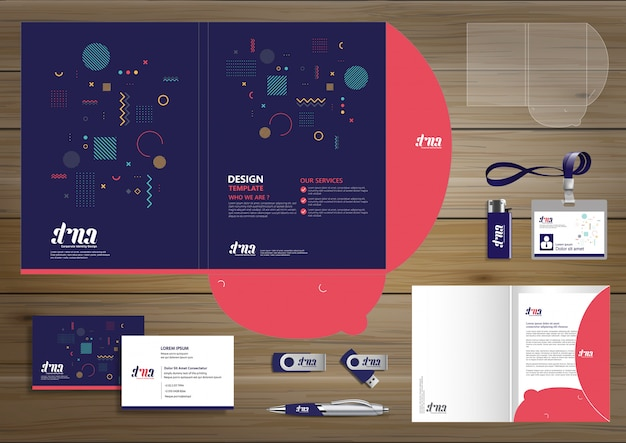 Corporate branding-vorlagen