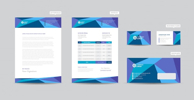 Corporate business briefkopf design | corporate identity | business branding