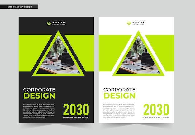 Corporate business buchcover-design und jahresbericht und broschürenvorlage