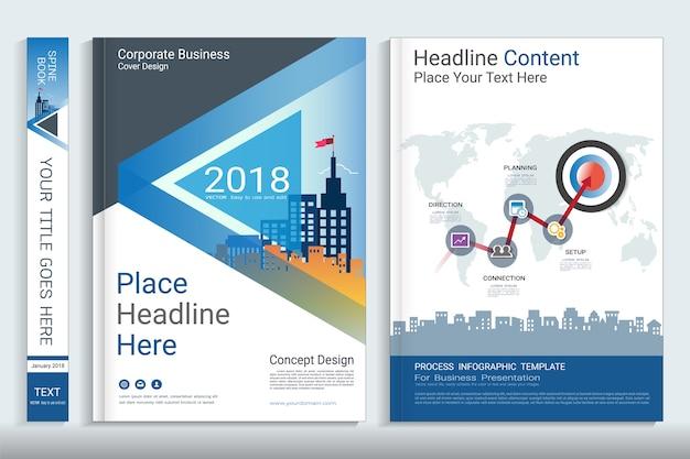 Corporate-business-cover-buch-design-vorlage