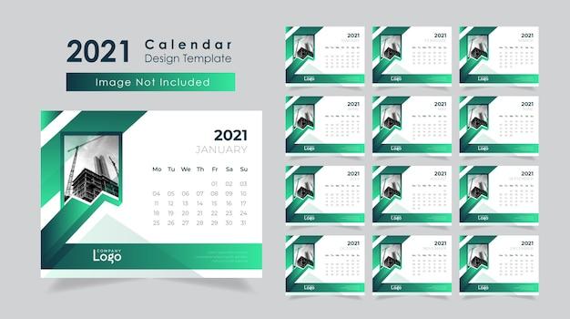 Corporate business desk kalender design