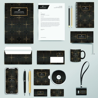 Corporate business identity design-vorlage