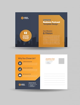 Corporate business postkarten design | direktwerbung eddm design