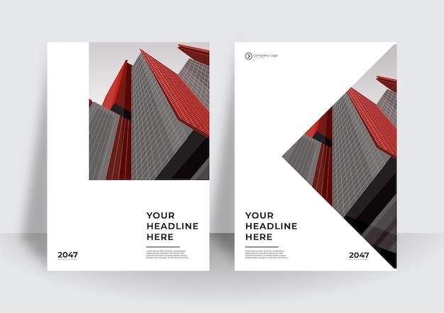 Corporate cover-design oder flyer-vorlagenhintergrund für business-design. moderne firmenprofilvorlage im a4-format