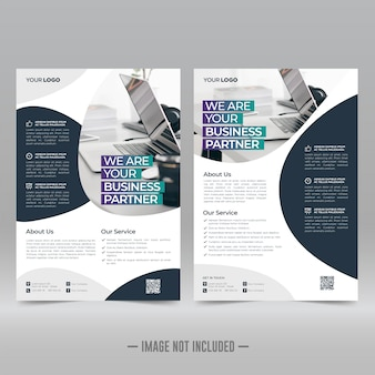 Corporate flyer vorlage