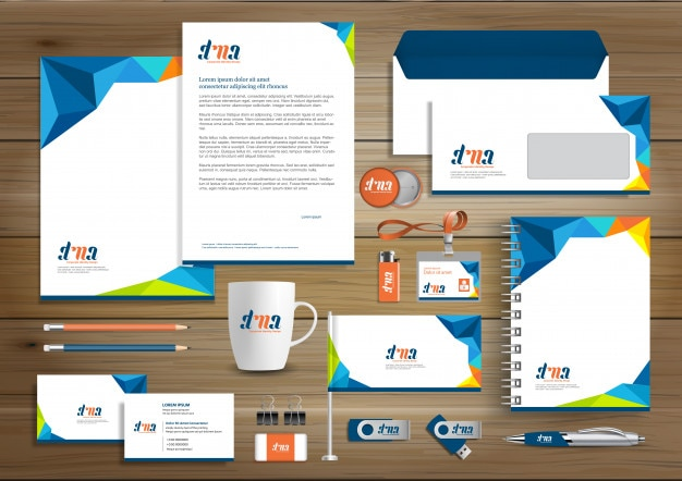Corporate identity entwurfsvorlage