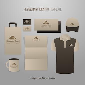 Corporate identity für ein bio-restaurant