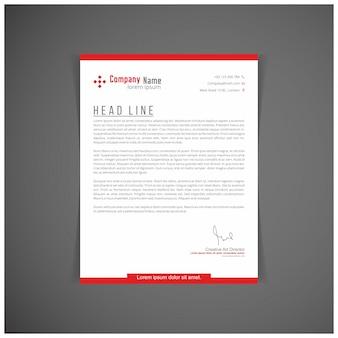 Corporate identity set oder kit für ihr business letter vorlagen vector format editierbaren platz für text