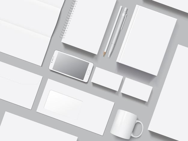 Corporate identity vektor modell