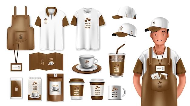 Corporate identity-vorlagenset branding-design geschäftsbriefpapier-modelle