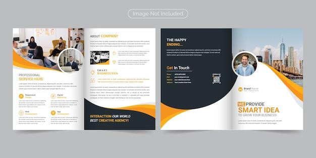 Corporate modern & professional bifold broschürenvorlage