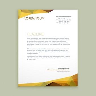 Corporate modernen briefpapier-design