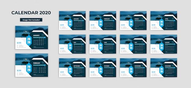 Corporate tischkalender 2020