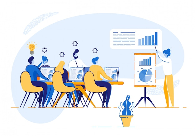 Corporate training für firmenmitarbeiter