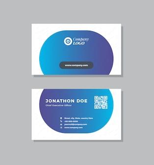 Corporate visitenkarten design | visitenkarte und persönliche visitenkarte