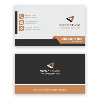 Corporate visitenkarten-design