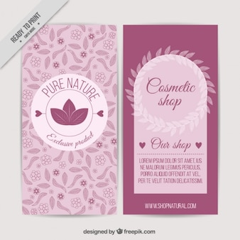 Cosmetis broschüre design