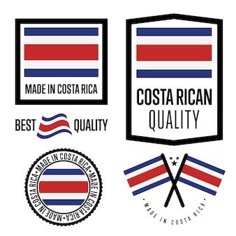 Costa rica qualitätssiegel festgelegt