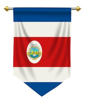 Costa rica-wimpel