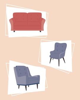 Couch möbel dekoration