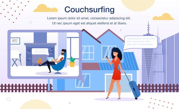Couchsurfing online service