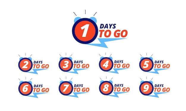 Countdown-abzeichen