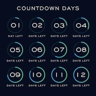 Countdown-tage-vorlage