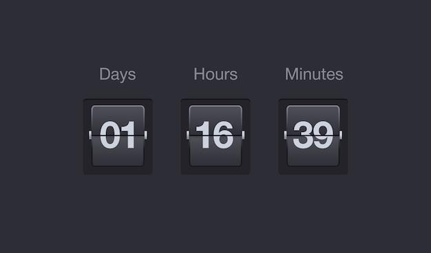 Countdown-timer umschalten